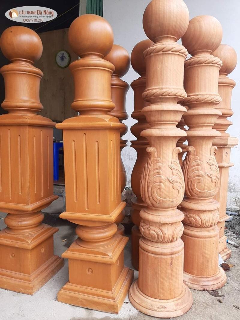 Mẫu trụ cầu thang tại Đà Nẵng