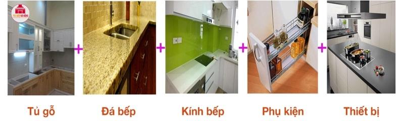xem giá tủ bếp cơ bản từng loại